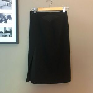 Karen Millen Black Pencil Skirt Size 6